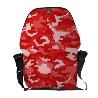 Red Army Military Camo Camouflage Pattern Texture Messenger Bag