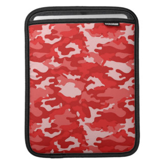 Red Army Military Camo Camouflage Pattern Texture Sleeve For iPads