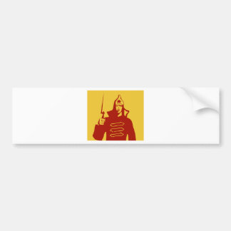 Red Army Soldier Bumper Sticker