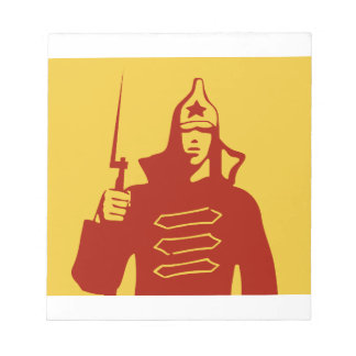 Red Army Soldier Notepad