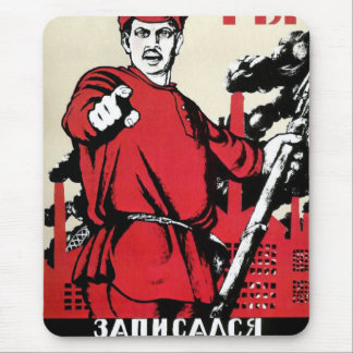 Red Army Wants You! Mouse Pad