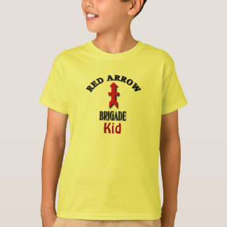 Red Arrow Brigade Military Kid T-Shirt