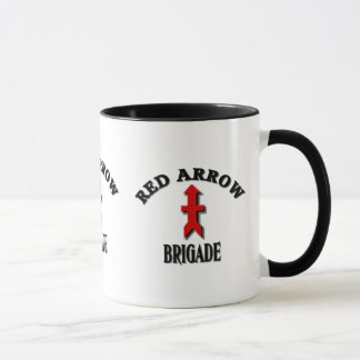 Red Arrow Brigade Military Mug