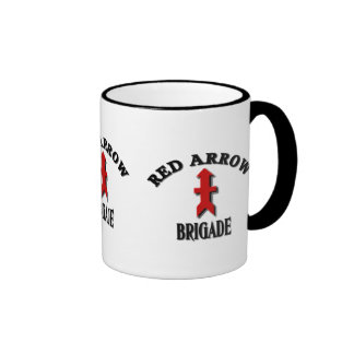 Red Arrow Brigade Military Ringer Mug