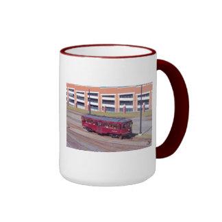 Red Arrow Lines Brill Car #76 Ringer Mug