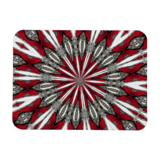 Red Arrow Medallion 3x4 Magnet