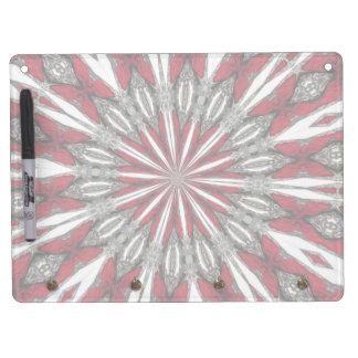 Red Arrow Medallion Horizontal Dry Erase Board