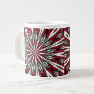 Red Arrow Medallion Jumbo Mug