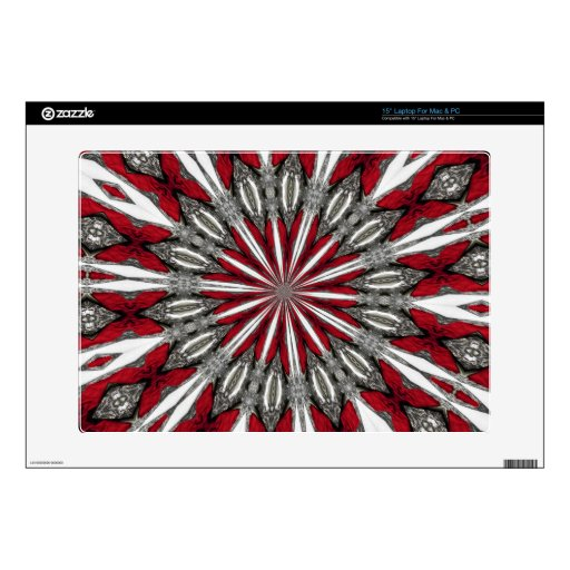Red Arrow Medallion Laptop and Netbook Skin