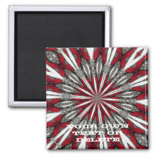 Red Arrow Medallion Magnet