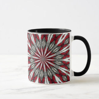 Red Arrow Medallion Mug