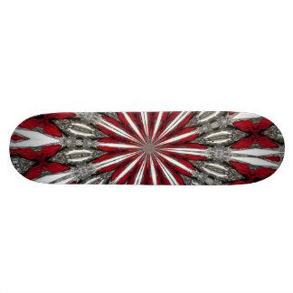 Red Arrow Medallion Skateboard Deck