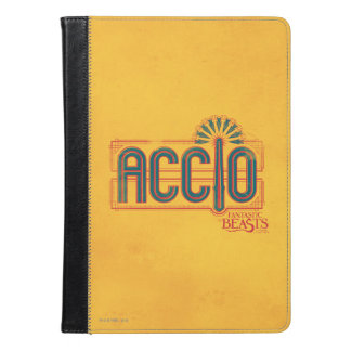 Red Art Deco Accio Spell Graphic iPad Air Case