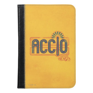 Red Art Deco Accio Spell Graphic iPad Mini Case