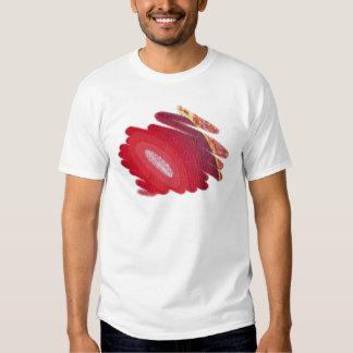 Red Art Spirals Ladies Edun Live Fitted t-Shirt