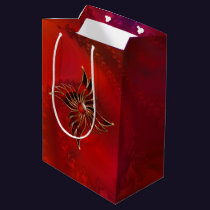 Red As the Flame Gift Bag