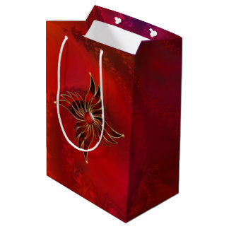 Red As the Flame Gift Bag Medium Gift Bag