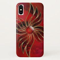 Red As the Flame iPhone Case-Mate
