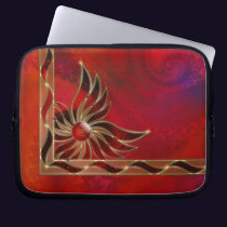 Red As the Flame Laptop Sleeve