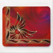 Red As the Flame Mousepad