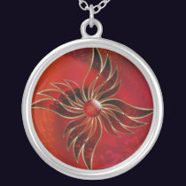 Red As the Flame Necklace