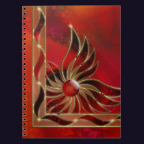 Red As the Flame Notebook