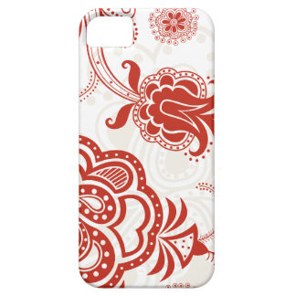 red asian design iphone 5 case