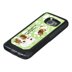 OtterBox Commuter Samsung Galaxy S7 Case with Australian Shepherd Phone Cases design