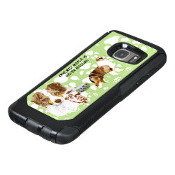 OtterBox Commuter Samsung Galaxy S7 Case with Australian Shepherd Phone Cases design