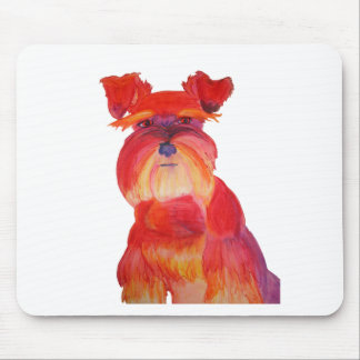 Red Austin Mousepad