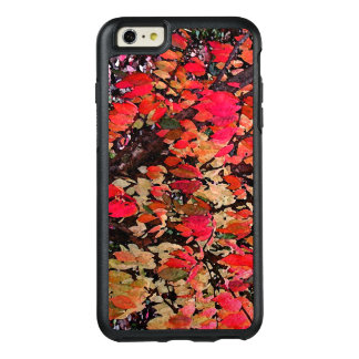 Red Autumn Abstract OtterBox iPhone 6 Plus Case