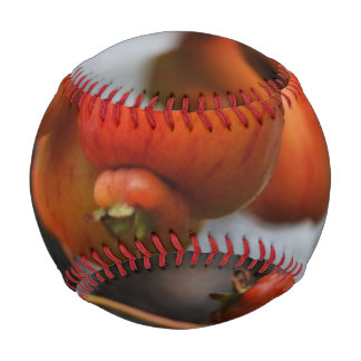 Red Autumn Apples Baseball