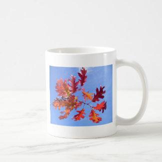 RED AUTUMN CLASSIC WHITE COFFEE MUG