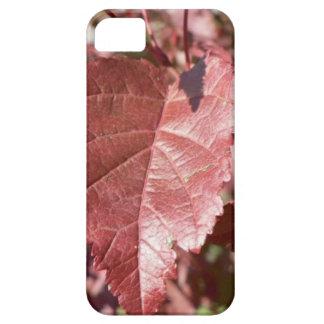 RED AUTUMN LEAVES iPhone SE/5/5s CASE