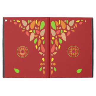 Red Autumn Theme iPad Pro Cover with no Kick Stand
