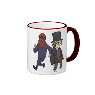 Red Avenger and Red Dawg Mug