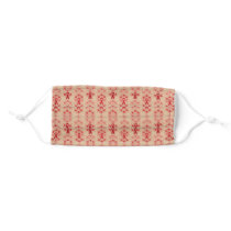 Red Awareness Ribbon Cloth Face Mask