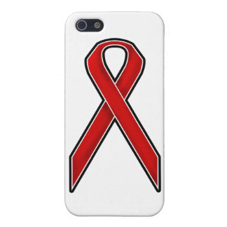 Red Awareness Ribbon Cover For iPhone SE/5/5s