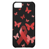 Red Awareness Ribbon iPhone 5C Cover