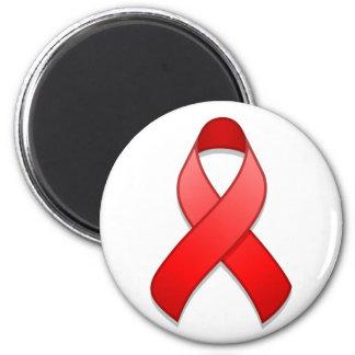 Red Awareness Ribbon Magnet