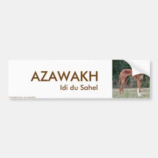 Red Azawakhs STICKER Car Bumper Sticker