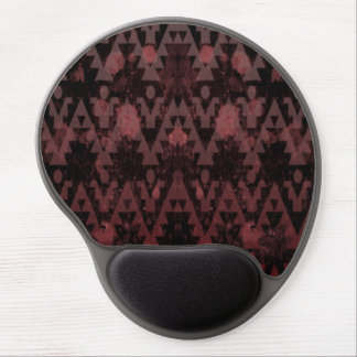 Red Aztec Gel Mousepads