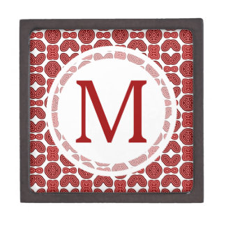 Red Aztec Pattern Premium Gift Boxes