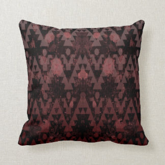 Red Aztec Pillow