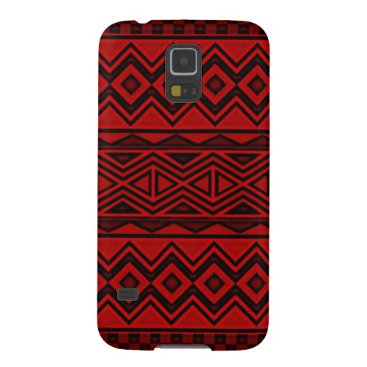 Aztec Themed Red Aztec Samsung Galaxy S5 Phone Case