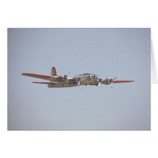 Red B-17 Card