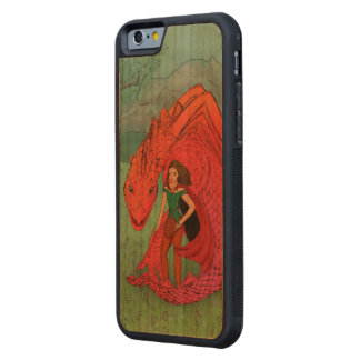 Red Baby Dragon Carved® Cherry iPhone 6 Bumper