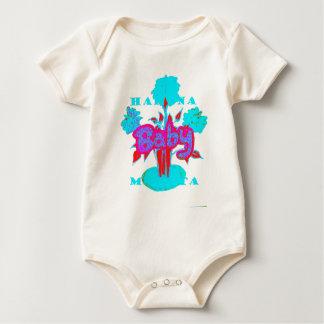 Red Baby kids plant Hakuna Matata Baby Bodysuit