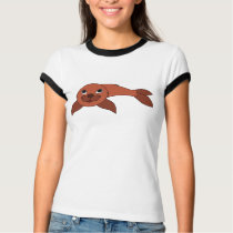 Red Baby Seal T-Shirt