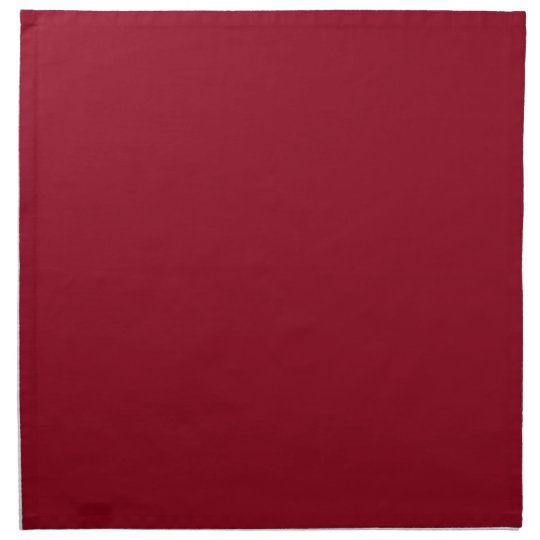 Red Background on a Napkin